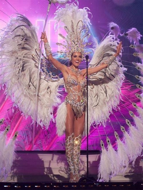 Trang phục dân tộc sexy tới ngạt thở ở cuộc thi hoa hậu - 16