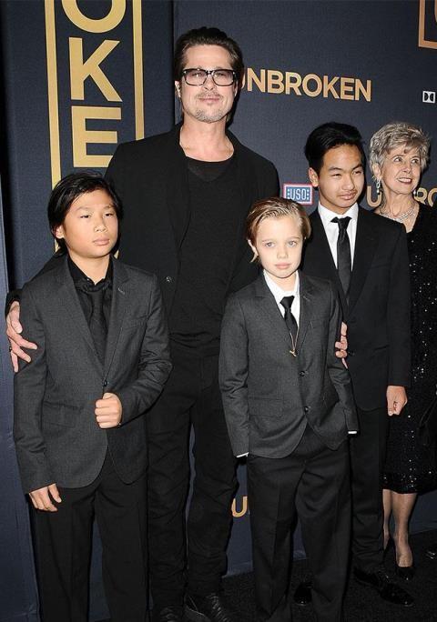 Brad Pitt cho rằng Angelina Jolie đang đưa các con vào rủi ro khi công bố các thông tin liên quan đến chúng