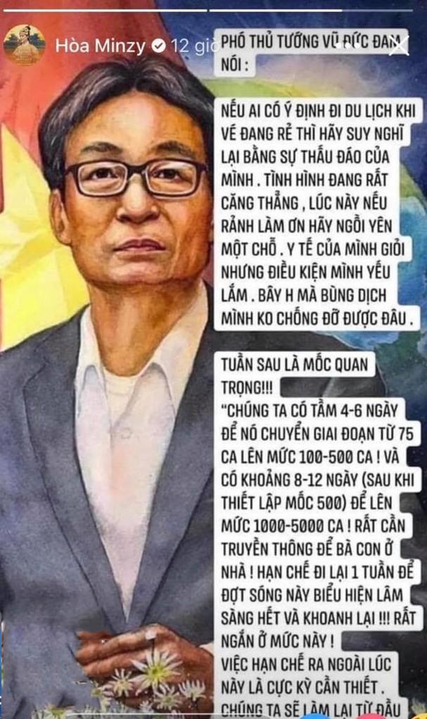 Trước khi bị phạt 7,5 triệu đồng vì đưa tin COVID-19 sai, Hòa Minzy nhiều lần bị 'ném đá' - ảnh 5