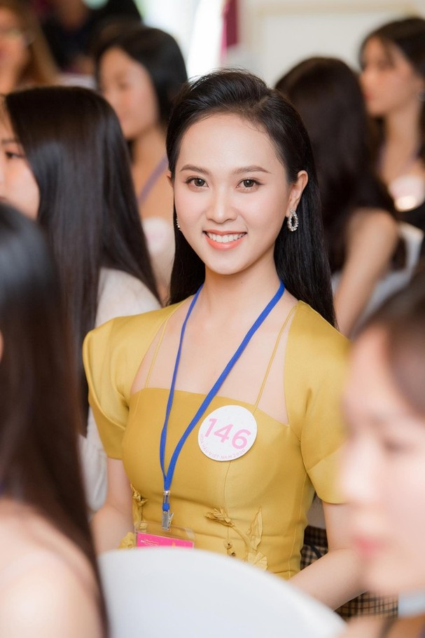 Sắc vóc đẹp hút hồn của các người đẹp xứ Nghệ lọt Bán kết Hoa hậu Việt Nam 2020 - ảnh 8