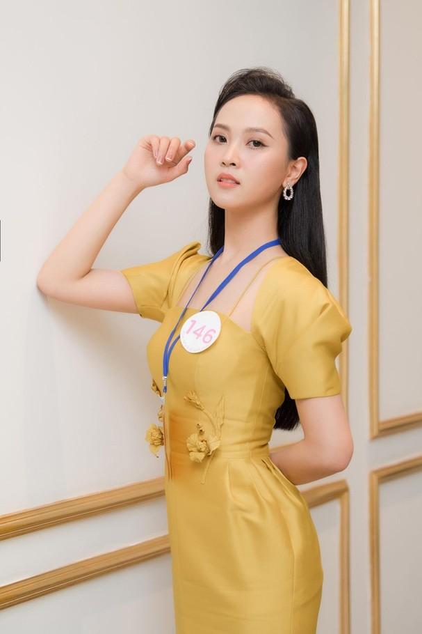 Sắc vóc đẹp hút hồn của các người đẹp xứ Nghệ lọt Bán kết Hoa hậu Việt Nam 2020 - ảnh 9