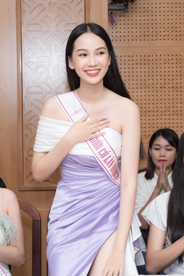Ảnh cấp 3 cực xinh đẹp của 'Người đẹp có làn da đẹp nhất' Hoa hậu Việt Nam 2020 - ảnh 13