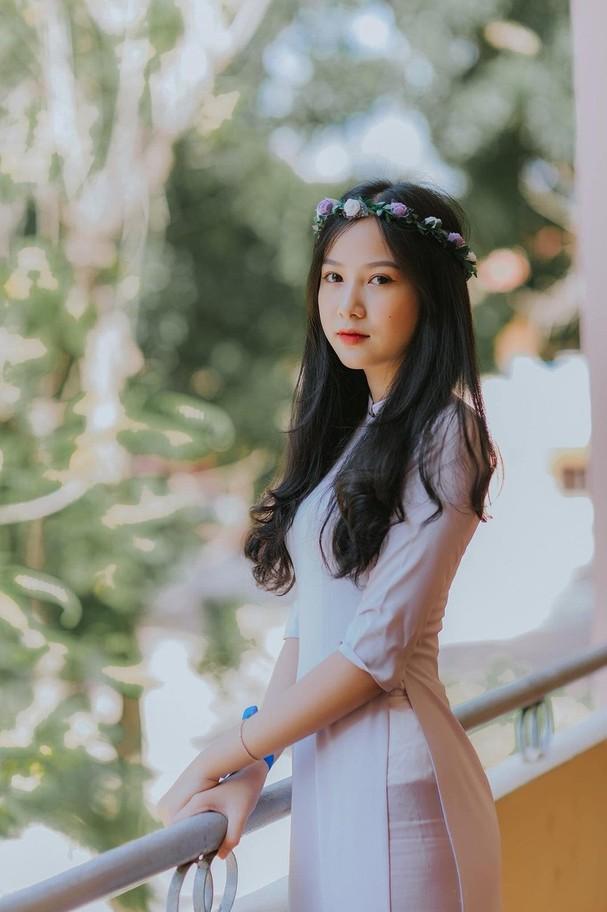 Ảnh cấp 3 cực xinh đẹp của 'Người đẹp có làn da đẹp nhất' Hoa hậu Việt Nam 2020 - ảnh 1