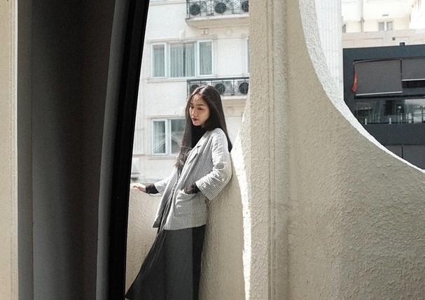 Nhan sắc không tì vết của cô gái có gương mặt đẹp nhất Hoa hậu Việt Nam 2018 - ảnh 9