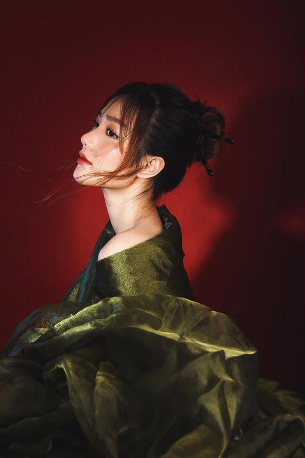 Nhan sắc không tì vết của cô gái có gương mặt đẹp nhất Hoa hậu Việt Nam 2018 - ảnh 4