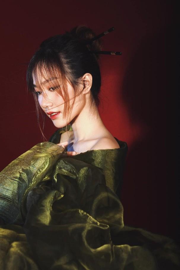 Nhan sắc không tì vết của cô gái có gương mặt đẹp nhất Hoa hậu Việt Nam 2018 - ảnh 6