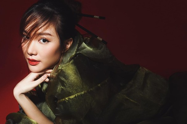 Nhan sắc không tì vết của cô gái có gương mặt đẹp nhất Hoa hậu Việt Nam 2018 - ảnh 1