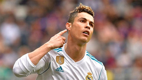 Ronaldo dẫn đầu danh sách 100 VĐV nổi tiếng thế giới của ESPN
