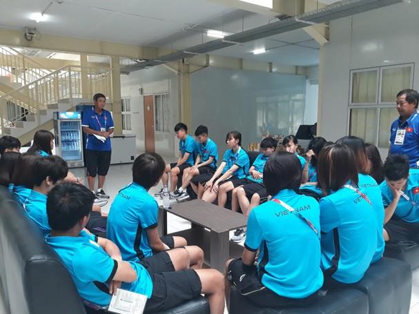 Đội tuyển nữ Việt Nam sẽ gặp Thái Lan (19/8) và Nhật Bản (21/8)