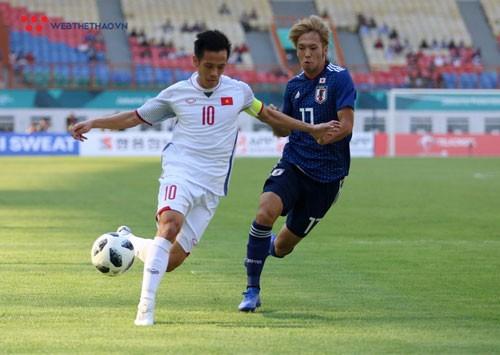 thu quan olympic nhat ban het loi khen doi truong van quyet hinh anh 1