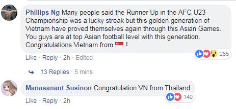 Báo chí và người hâm mộ châu Á dành những lời có cánh cho Olympic Việt Nam - ảnh 6