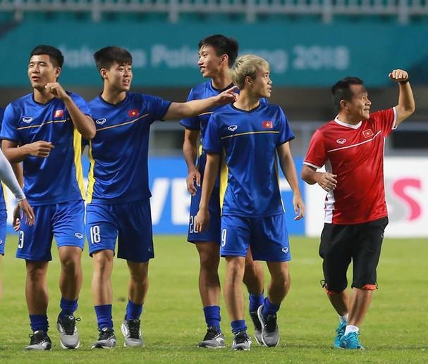 Duy Mạnh hồi phục chấn thương là tin vui với HLV Park Hang Seo