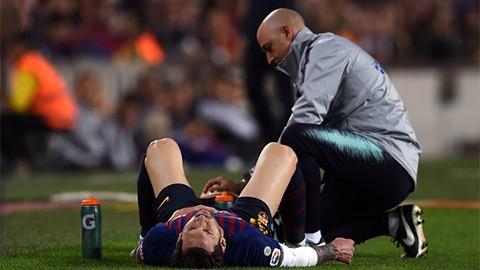 Messi sẽ không lỡ Siêu kinh điển?