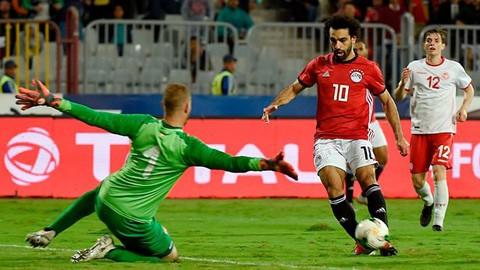 Salah ghi bàn kịch tính mang về thắng lợi cho Ai Cập