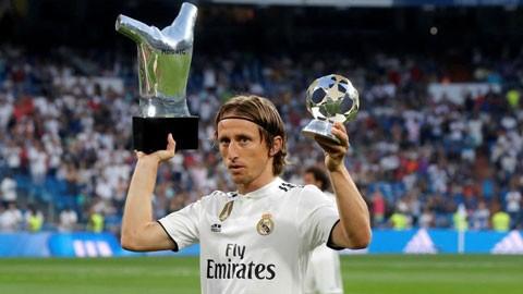 Rò rỉ tin Modric là chủ nhân của Quả bóng vàng 2018