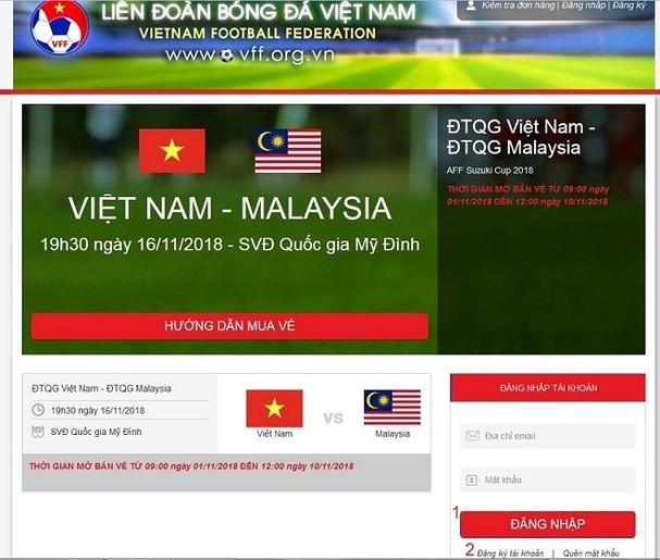 mua ve bong da, Vé bóng đá, vebongdaoline, vebongda, mua vé bóng đá online, vé bán kết Việt Nam Philippines, vff, mua bán vé bóng đá trực tuyến, mua vé bóng đá qua mạng