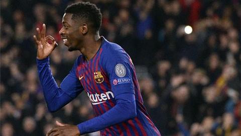 Dembele và Sane được vinh danh ở Champions League tuần qua