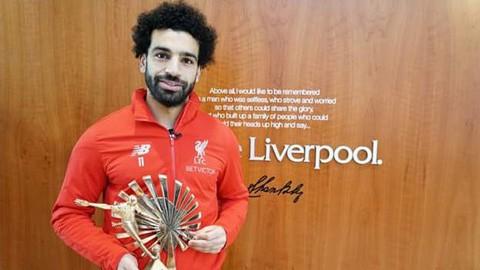 Salah giành giải cầu thủ châu Phi hay nhất 2018