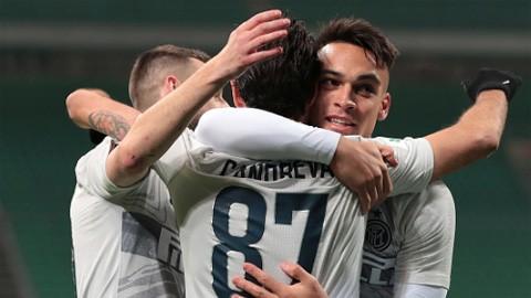 Vòng 1/8 Coppa Italia: Inter, Napoli vào tứ kết