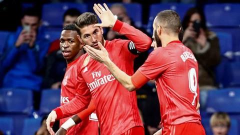 Ramos cán mốc 10 bàn ở mùa 2018/19