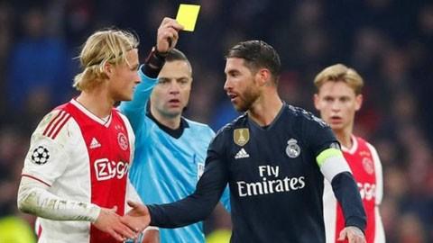 UEFA xác nhận Ramos có hành vi tẩy thẻ