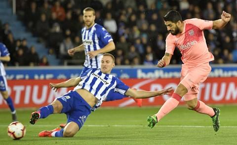 Barca đã ở rất gần ngôi vô địch