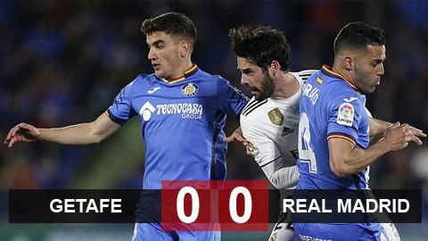 Getafe 0-0 Real: Getafe tự tin giành vé Champions League