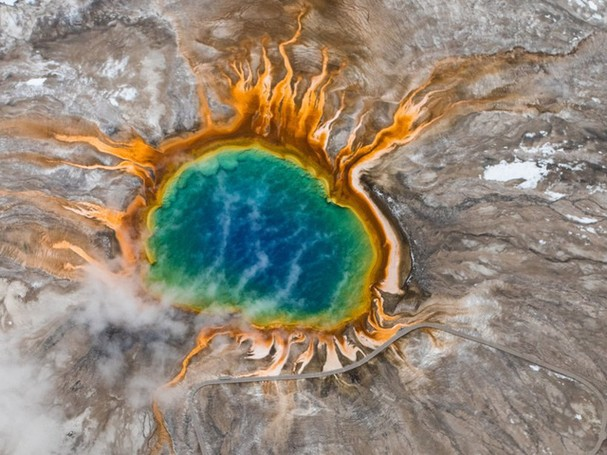 Chiêm ngưỡng vẻ đẹp kì lạ của trái đất qua 25 bức ảnh - ảnh 14