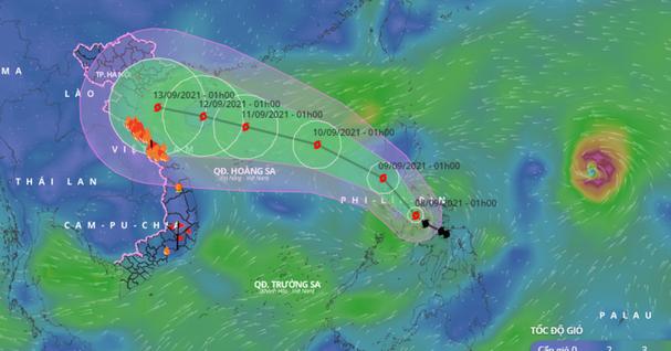 Bão Conson diễn biến khó lường do chịu tác động của cơn bão rất mạnh khác |  Kinh tế | Báo Nghệ An điện tử