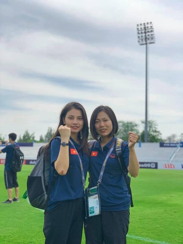 Tú Anh từng đồng hành cùng các VĐV U19 nữ Việt Nam tại Myanmar hồi tháng 10 vừa qua.