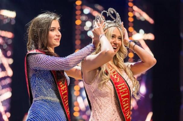 Celine Van Ouytsel giành vương miện Hoa hậu Bỉ 2020.