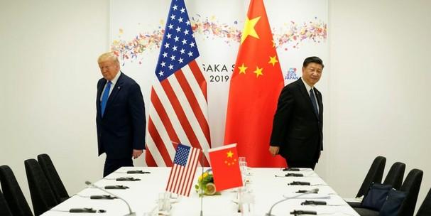 Tổng thống Mỹ Donald Trump và Chủ tịch Trung Quốc Tập Cận Bình tại Hội nghị Thượng đỉnh G20 Osaka ở Nhật Bản năm 2019. Ảnh: Reuters