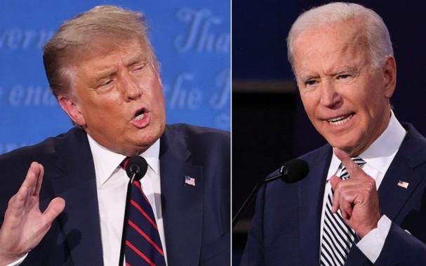 Ứng viên Tổng thống Mỹ Trump (trái) và Biden. Ảnh: ABC News.
