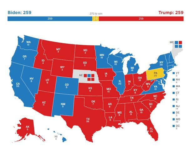 Quyền lực của Đại cử tri đoàn trong bầu cử ở Mỹ - ảnh 11