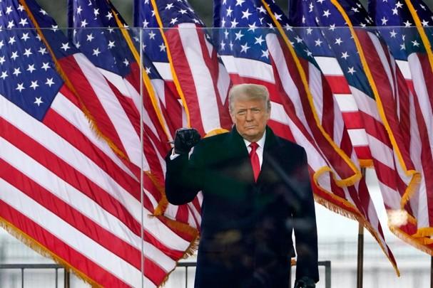 Tổng thống Trump. Ảnh: AP