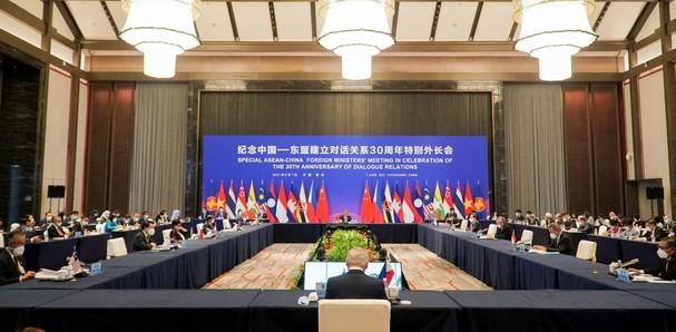 Hội nghị đặc biệt các Bộ trưởng Ngoại giao ASEAN-Trung Quốc.